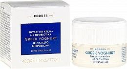 Kup Intensywnie nawilżający krem z jogurtem greckim do twarzy - Korres Greek Yoghurt Probiotic Moisturiser Intense