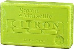 Kup Naturalne mydło w kostce Limonka - Le Chatelard 1802 Soap Lemon & Lime