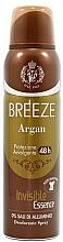 Kup Breeze Deo Spray Argan - Dezodorant w sprayu