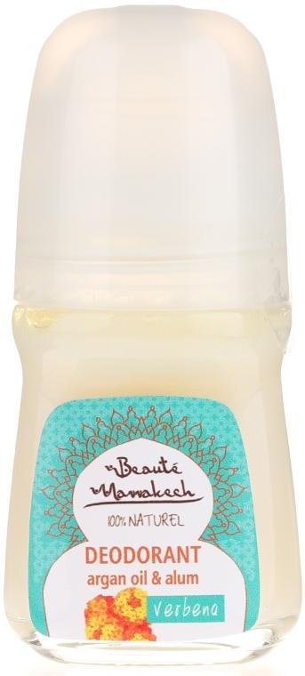 Naturalny dezodorant w kulce z olejem arganowym i ałunem potasowym - Beauté Marrakech Natural Deodorant Roll-on