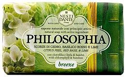 Kup Naturalne mydło w kostce Cytrusy, czerwona bazylia i limonka - Nesti Dante Philosophia Breeze