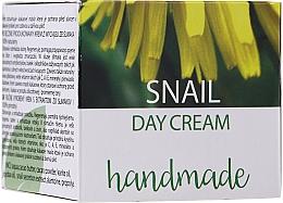 Kup Krem do twarzy na dzień z ekstraktem ze ślimaka - Hristina Cosmetics Handmade Snail Day Cream