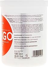 Nawilżająca maska naprawcza do włosów z olejem z mango - Kallos Cosmetics Mango Hair Mask — фото N4