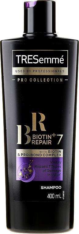 Regenerujący szampon do włosów - Tresemme Biotin Repair 7 Shampoo — фото N1