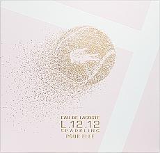 Kup Lacoste Eau de Lacoste L.12.12 Pour Elle Sparkling - Zestaw (edt/90ml + sh/gel/150ml)