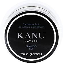 Kup Szampon do włosów normalnych w metalowym opakowaniu - Kanu Nature Shampoo Bar Toxic Glamour For Normal Hair