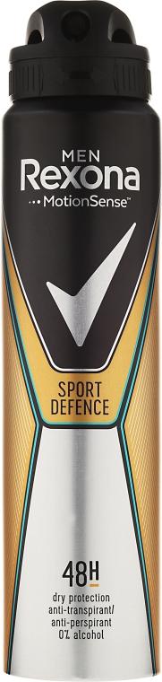 Antyperspirant w sprayu dla mężczyzn - Rexona Men MotionSense Sport Defence 48H Anti-perspirant