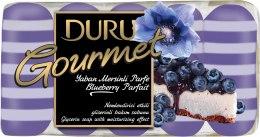 Kup Mydło kosmetyczne Parfait jagodowe - Duru Gourmet Blueberry Parfait Soap