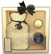 Kup Zestaw - Style & Grace Signature Hot Water Bottle Home Comfort Gift Set (b/butter/120ml+bath/fizzer/50g+acc/1pc)