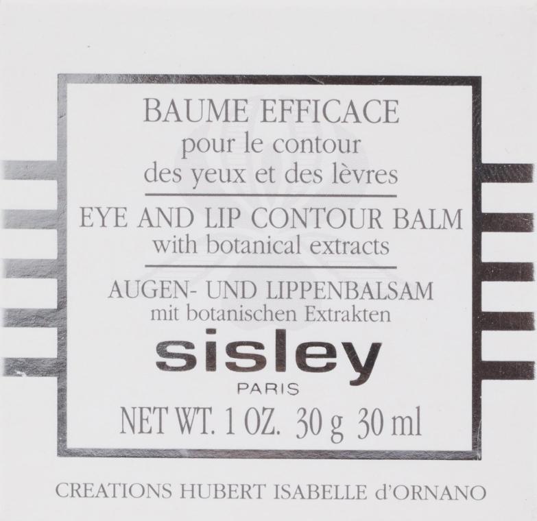 Pielęgnujący balsam do okolic oczu i ust - Sisley Botanical Eye And Lip Contour Balm — фото N3