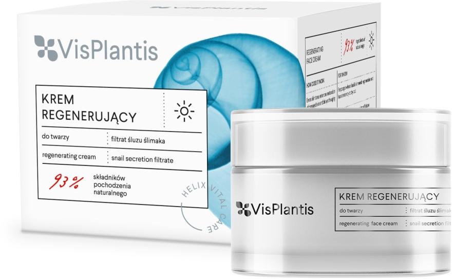 Krem regenerujący na dzień z filtratem ze śluzu ślimaka - Vis Plantis Helix Vital Care