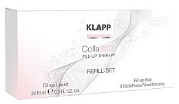 Kup Zestaw - Klapp CollaGen Fill-Up Therapy Refill Set