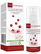 Kup Hipoalergiczna maseczka do twarzy Naturalne odżywienie - GoCranberry Natural Nutrition Facial Mask