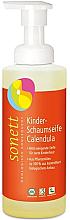 Kup Organiczne mydło-pianka dla niemowląt Nagietek - Sonett Foam Soap For Children Calendula