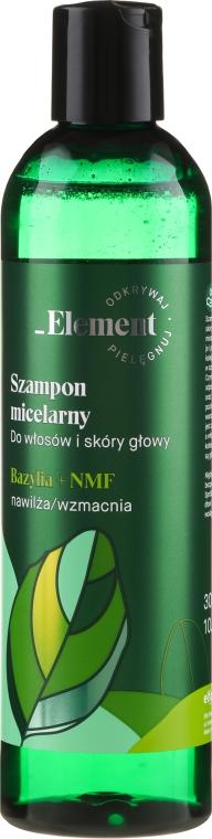 Wzmacniający szampon przeciw wypadaniu włosów Ekstrakt z bazylii + NMF - _Element Basil — фото N1