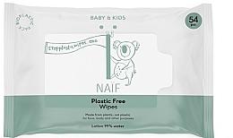 Kup Chusteczki nawilżane dla niemowląt - Naif Wet Wipes 54St Plastic Free