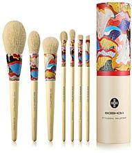 Kup Zestaw pędzli do makijażu, 7 szt - Eigshow Beauty Essential Series Yellow Fresher Brush Kit