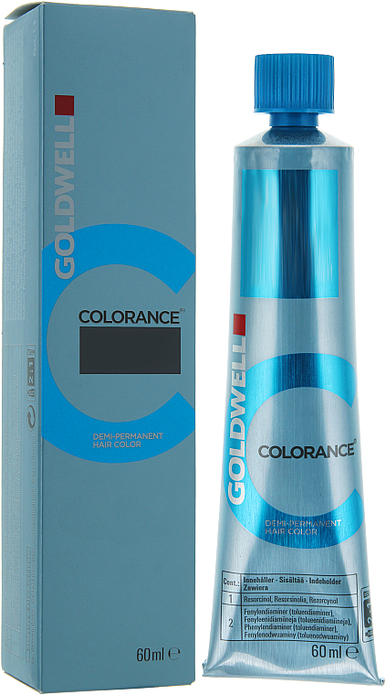 PRZECENA! Krem bez amoniaku do półtrwałej koloryzacji włosów - Goldwell Colorance Demi Permanent Hair Color * — фото N3