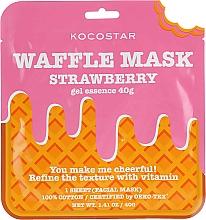 Kup Wzmacniająca maska na tkaninie Truskawka - Kocostar Strawberry Waffle Mask