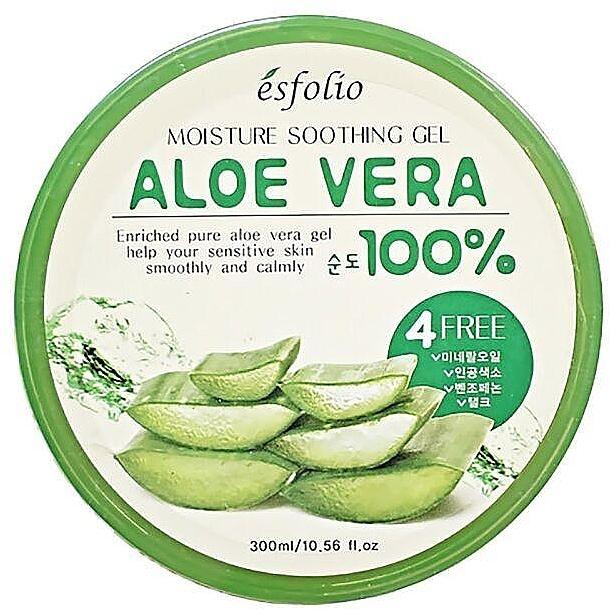 Nawilżający żel aloesowy - Esfolio Aloe Vera 100% Moisture Soothing Gel