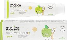 Kup Pasta do zębów dla dzieci Jabłko - Melica Organic Toothpaste For Kids Apple