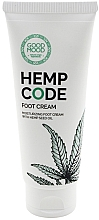 Kup Nawilżający krem do stóp z olejem konopnym - Good Mood Hemp Code Foot Cream