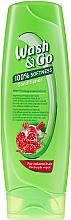 Kup Odżywka z ekstraktem z granatu do włosów farbowanych - Wash&Go 100% Softness Conditioner