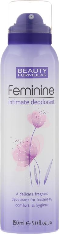 Dezodorant do higieny intymnej - Beauty Formulas Feminine Intimate Deodorant