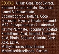 Szampon cebulowy z kompleksem witamin - Mirrolla — фото N4