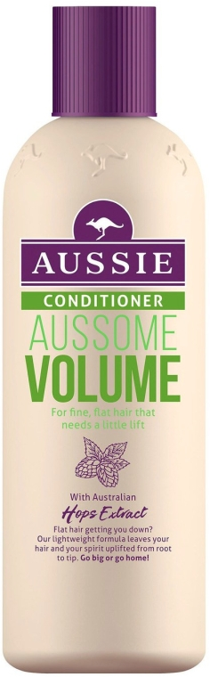 Odżywka do włosów cienkich zwiększająca ich objętość - Aussie Volume Conditioner — фото N1
