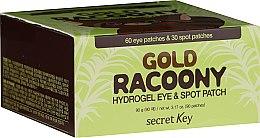 Kup Hydrożelowe płatki pod oczy ze złotem - Secret Key Gold Racoony Hydrogel Eye Spot Patch