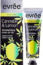 Kup Orzeźwiający krem do rąk - Evrēe Cannabis & Lemon