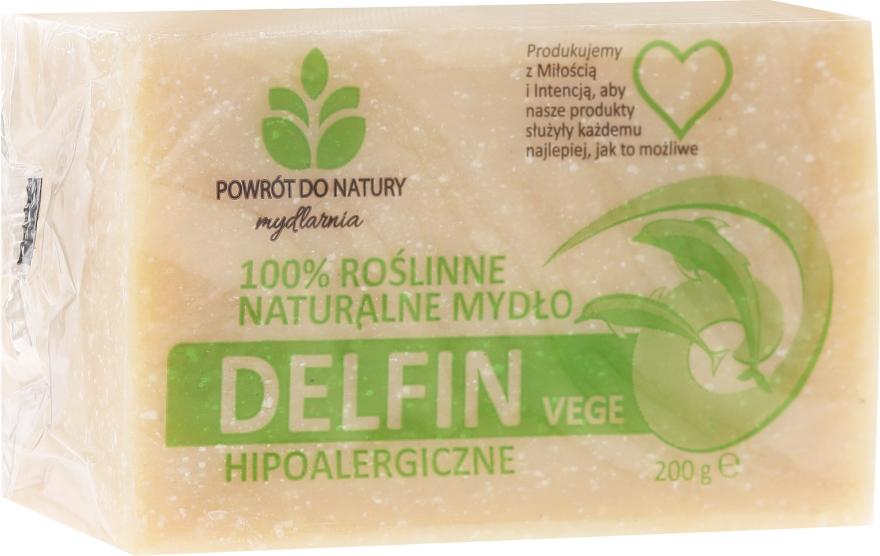 100% roślinne naturalne mydło hypoalergiczne Delfin Vege - Powrót do Natury