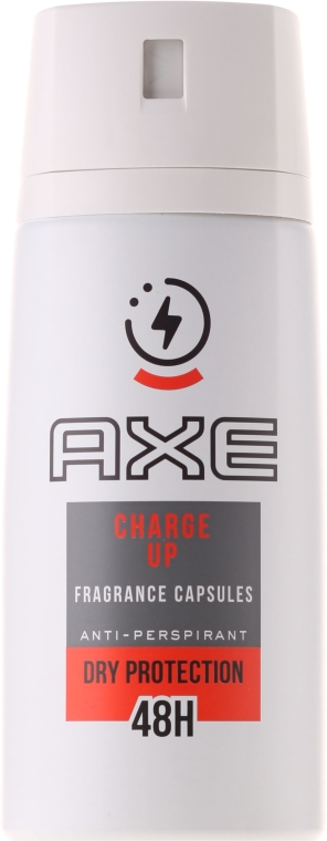 Antyperspirant w sprayu dla mężczyzn - Axe Charge Up Anti-Perspirant Spray