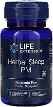 Kup PRZECENA! Suplement diety ułatwiający zasypianie - Life Extension Herbal Sleep PM *