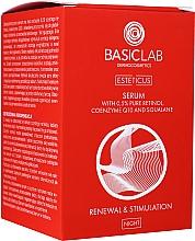 Kup Serum do twarzy z retinolem - BasicLab Dermocosmetics Esteticus Serum Retinol 0,5%