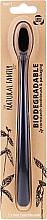 Kup Biodegradowalna szczoteczka do zębów, czarna - The Natural Family Co Biodegradable Toothbrush