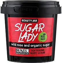 Kup Zmiękczający scrub do ciała z dziką różą i organicznym cukrem - Beauty Jar Sugar Lady Softening Body Scrub