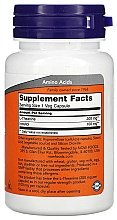 Suplement diety Teina, 200 mg - Now Foods L-Theanine Double Strength Veg Capsules — фото N2