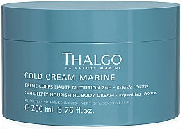 Kup Głęboko odżywczy krem do ciała - Thalgo Cold Cream Marine Deeply Nourishing Body Cream