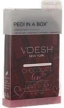 Kup Zestaw do pedicure Czekoladowa miłość - Voesh Deluxe Pedicure Chocolate Love Pedi In A Box 4 in 1