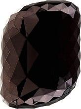 Kup Kompaktowa szczotka do włosów, czarna - Twish Spiky 4 Hair Brush Diamond Black