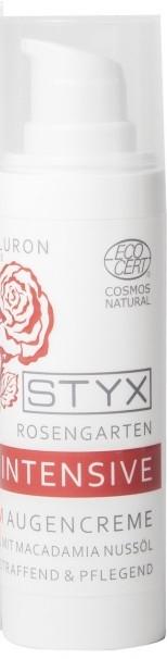 Krem pod oczy z olejkiem z orzechów macadamia - Styx Naturcosmetic Rose Garden Intensive Eye Cream (próbka)