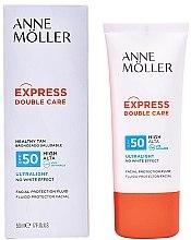 Kup Przeciwsłoneczny fluid do twarzy SPF 50 - Anne Möller Double Care Ultralight Facial Protection Fluid