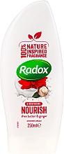 Kup Odżywczy krem pod prysznic Masło shea i imbir - Radox Moisturising Nourish Shea Butter & Ginger Shower Cream