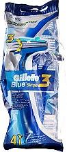 Kup Zestaw jednorazowych maszynek do golenia, 4 szt. - Gillette Blue 3 Simple