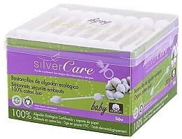 Kup Patyczki higieniczne dla dzieci, 100szt - Silver Care Coton