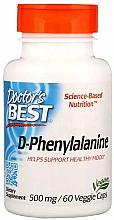 Kup D-fenyloalanina, 500 mg - Doctor's Best D-Phenylalanine