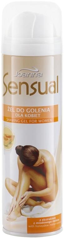 Żel do golenia dla kobiet Miodowy melon - Joanna Sensual — фото N1