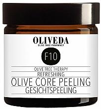Kup Odświeżający peeling oliwkowy do twarzy - Oliveda F10 Refreshing Olive Core Peeling
